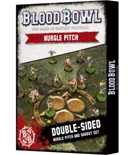 Blood Bowl: Nurgle Pitch and Dugout Set (Inglés)