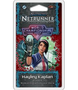 Android Netrunner LCG: Hayley Kaplan - World Championships 2017 (Inglés)