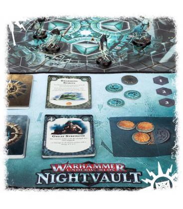 Warhammer Underworlds Nightvault: Tapete