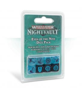 Warhammer Underworlds Nightvault: Ojos de los Nueve (Pack de Dados)