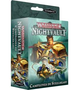Warhammer Underworlds Nightvault: Campeones de Steelheart