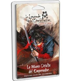 La Leyenda de los Cinco Anillos LCG: La Mano Oculta del Emperador (Pack del Clan del Escorpión)