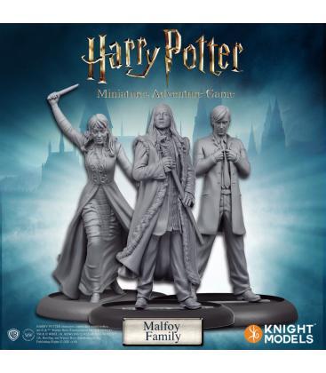 Harry Potter Miniatures: Familia Malfoy