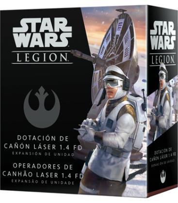 Star Wars Legion: Dotación de Cañón Láser 1.4 FD