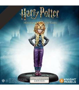 Harry Potter Miniatures: Luna Lovegood (Lion Hat)