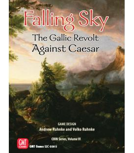 Falling Sky: The Gallic Revolt Against Caesar (Inglés)