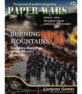 Paper Wars 89: Burning Mountains (Inglés)