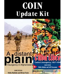 Cuba Libre / A Distant Plain: 1st to 2nd Edition Update Kit (Inglés)
