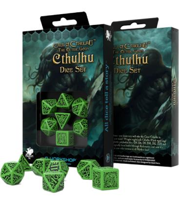 Q-Workshop: Call of Cthulhu - The Outer Gods (Cthulhu Dice Set)