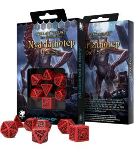 Q-Workshop: Call of Cthulhu - The Outer Gods (Nyarlathotep Dice Set)