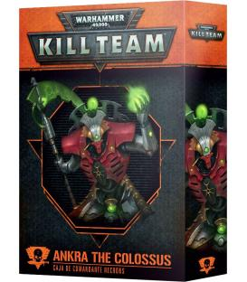 Kill Team: Comandante Ankra the Colossus (Necrons)