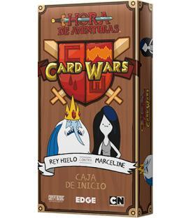 Hora de Aventuras Card Wars: Rey Hielo contra Marceline