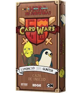 Hora de Aventuras Card Wars: Limoncio contra Gunter