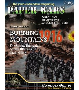 Paper Wars 89: Burning Mountains (Inglés)