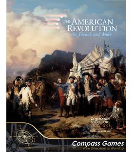 Commands & Colors Tricorne: The American Revolution Expansion Kit 1 - The French & More (Inglés)