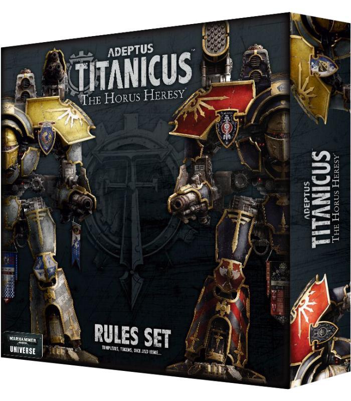 Adeptus Titanicus: The Horus Heresy Rules Set (Inglés)