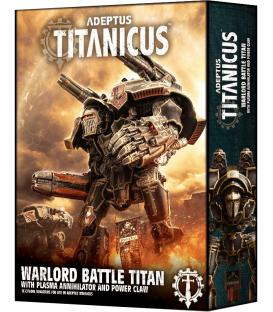 Adeptus Titanicus: Warlord Battle Titan with Plasma Annihilator and Power Claw (Inglés)