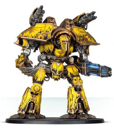 Adeptus Titanicus: Warlord Battle Titan with Plasma Annihilator and Power Claw