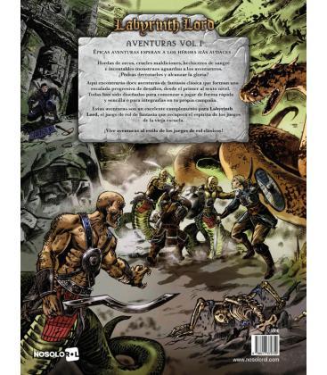 Labyrinth Lord: Aventuras Vol. 1