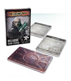 Necromunda: Banda Delaque Cards (Inglés)