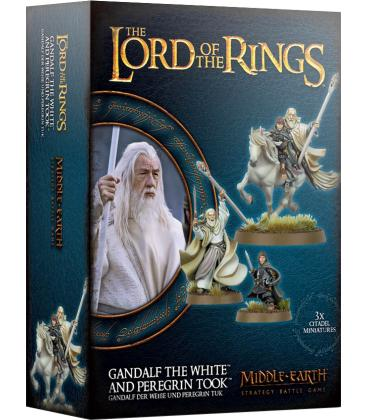 Middle-Earth Strategy Battle Game: Gandalf the White and Peregrin Took