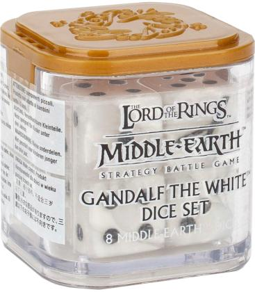 Middle-Earth Strategy Battle Game: Gandalf the White Dice Set