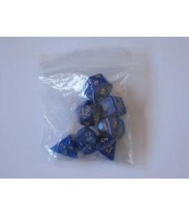 Bolsa 7 Dados: Perla Azul