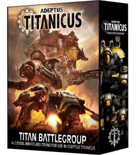 Adeptus Titanicus: Titan Battlegroup (Inglés)