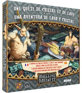 Massive Darkness: Una Aventura de Lava y Cristal
