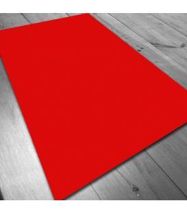 Tapete de Neopreno: Rojo Liso (140x80 cm)