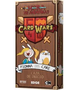 Hora de Aventuras Card Wars: Fionna contra Cake