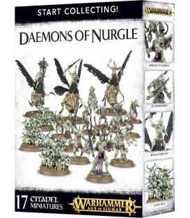 Warhammer Age of Sigmar: Start Collecting! Daemons of Nurgle