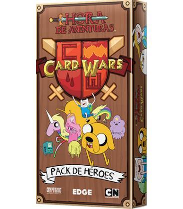 Hora de Aventuras Card Wars: Pack de Héroes 1