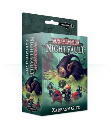 Warhammer Underworlds Nightvault: Zarbag's Gitz (Inglés)