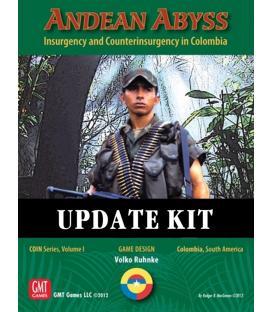Andean Abyss: 2nd Edition Update Kit (Inglés)