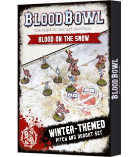 Blood Bowl: Blood on the Snow (Pitch and Dugout Set) (Inglés)