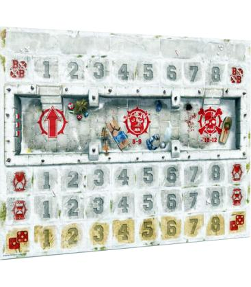 Blood Bowl: Blood on the Snow Pitch and Dugout Set