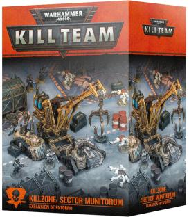 Warhammer Kill Team: Killzone Sector Munitorum (Expansión de Entorno)