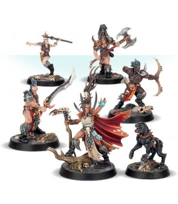 Warhammer Underworlds Nightvault: Cazadores Divinos Jurados