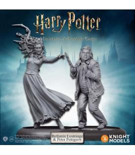 Harry Potter Miniatures: Bellatrix y Colagusano