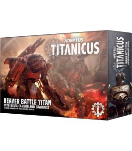 Adeptus Titanicus: Reaver Battle Titan with Melta Cannon and Chainfist (Inglés)