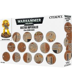Warhammer 40,000: Sector Imperialis (32 mm. Round Bases)
