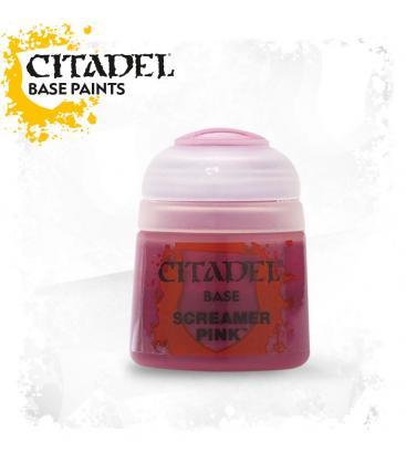 Pintura Citadel: Base Screamer Pink