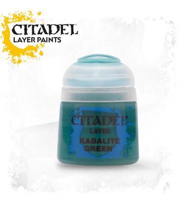 Pintura Citadel: Layer Kabalite Green