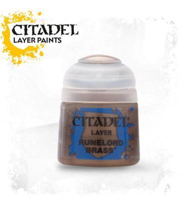 Pintura Citadel: Layer Runelord Brass