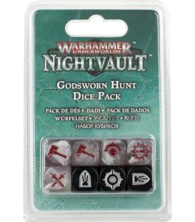 Warhammer Underworlds Nightvault: Cazadores Divinos Jurados (Pack de Dados)