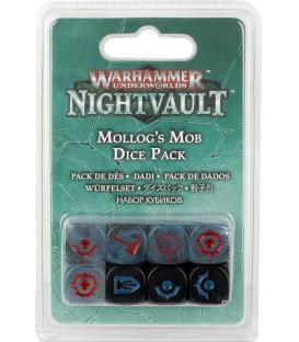 Warhammer Underworlds Nightvault: La Peña de Mollog (Pack de Dados)