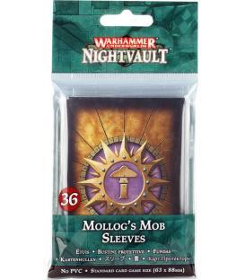 Warhammer Underworlds Nightvault: La Peña de Mollog (Fundas)