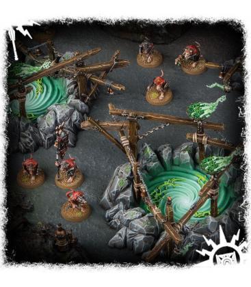 Warhammer Age of Sigmar: Skaven Gnawholes