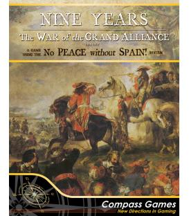 Nine Years: The War of the Grand Alliance 1688-1697 (Inglés)
